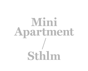 Mini Apartment Sthlm